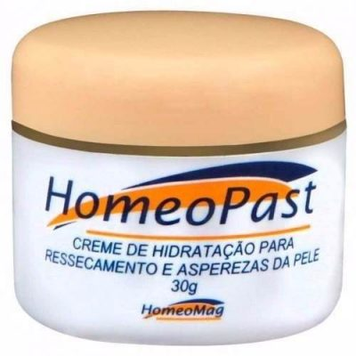 Creme Homeopast Para Rachaduras e Fissuras da Pele e Hidratante Homeomag 30g