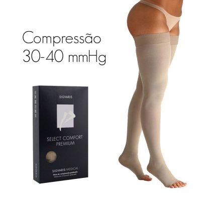 Meia Coxa Select Comfort 7/8 [30-40mmhg] PREMIUM SIGVARIS