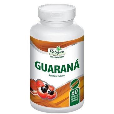 Guaraná 500 mg 60 cápsulas Katiguá