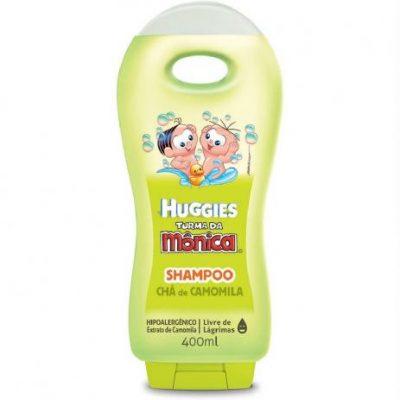 Shampoo Infantil Turma da Mônica Chá de Camomila Huggies 200 ml