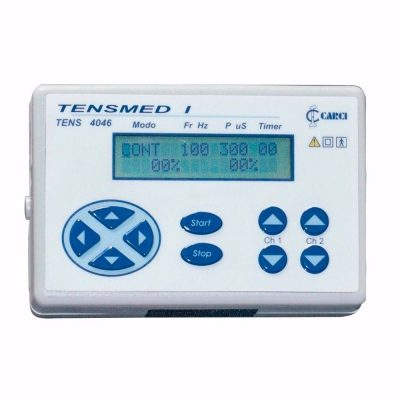 Tensmed I Tens Digital 02 Canais Junior Fisioterapia Reabilitação Portatil Carci