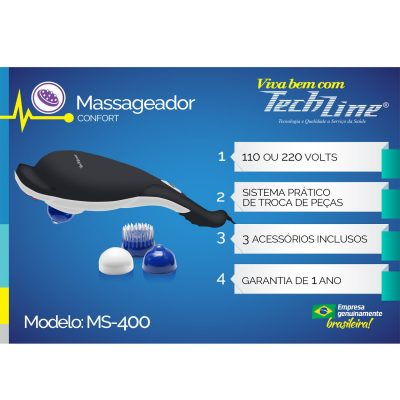 Massageador Confort MS-400 TechLine