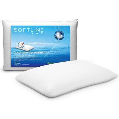 Travesseiro Visco-elástico N.a.p - Classic Softline + Capa