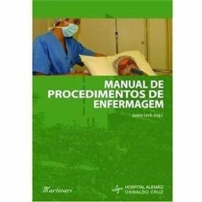 Livro Manual De Procedimentos De Enfermagem