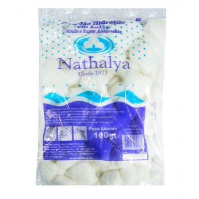 Algodão Hidrófilo 100g em bolas super absorvente Nathalya