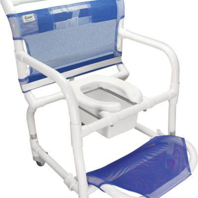 Cadeira de Banho e Higiênica em PVC Até 150kg CarciLife