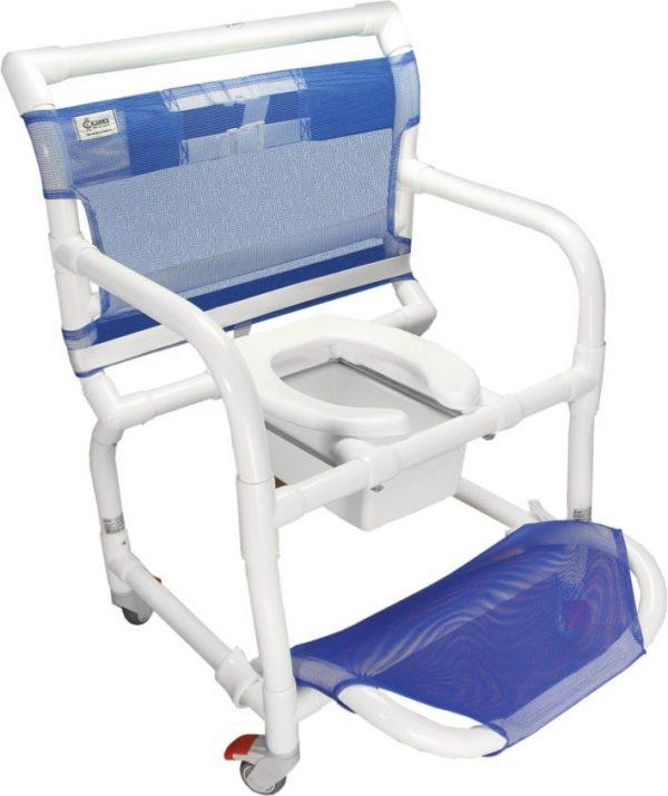 Cadeira de Banho e Higiênica em PVC Até 150kg CarciLife 1