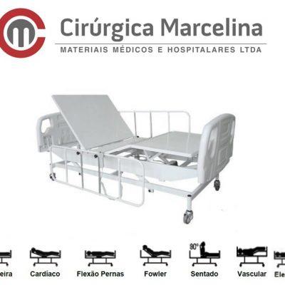 Cama Hospitalar Fawler Motorizada Com Elevação Luxo
