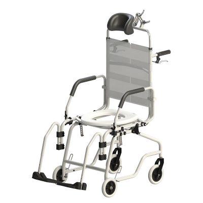 Cadeira De Banho Reclinável Alumínio - Baxmann & Jaguaribe