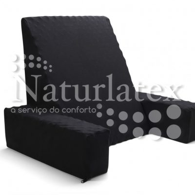 Travesseiro Encosto Triangular Com Apoio Supremo Naturlatex