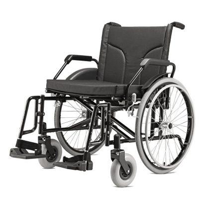 Cadeira De Rodas Big Suporta 160kg - Baxmann & Jaguaribe