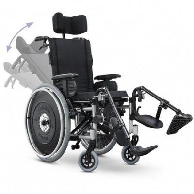 Cadeira De Rodas AVD Alumínio Reclinavel - Ortobras