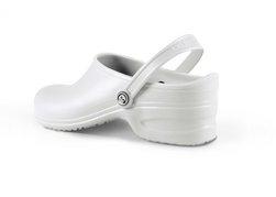 Sapato Tamanco Hospitalar 33/34 Branco Cauzioneh Plus Lab News