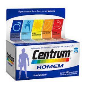Centrum Homem 30 comprimi...